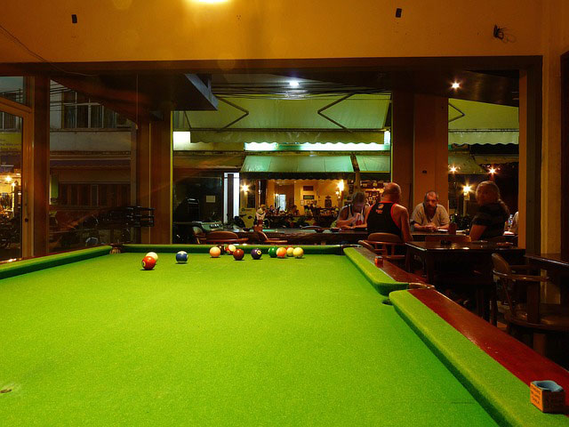 SOLO pool table installations